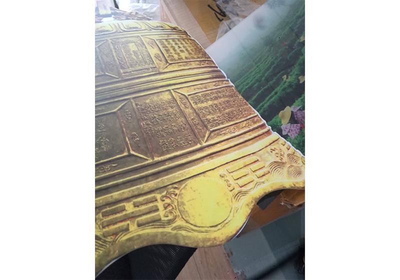 UV平板打印仿古饰面案例