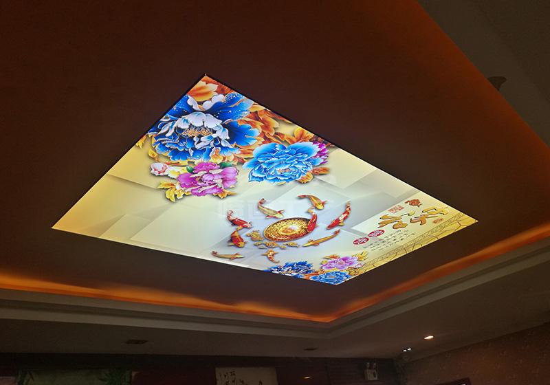 酒店吊顶-UV软膜天花