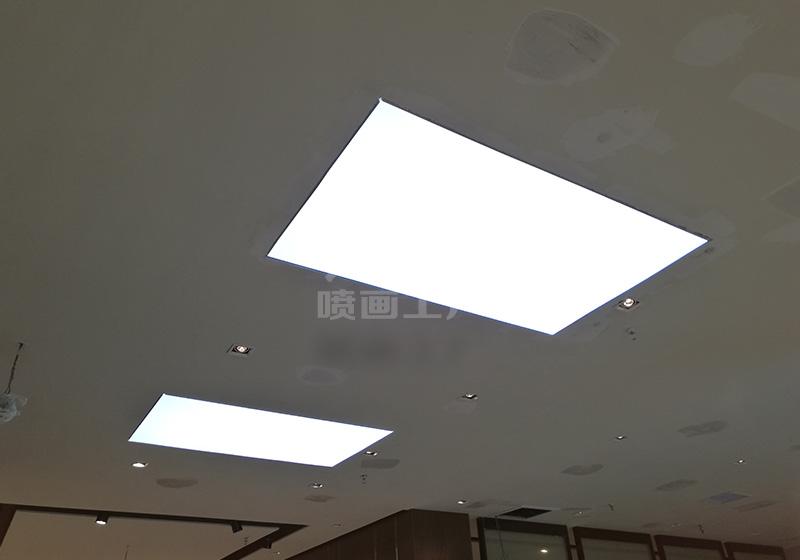 商场专卖店灯箱制作安装-UV软膜